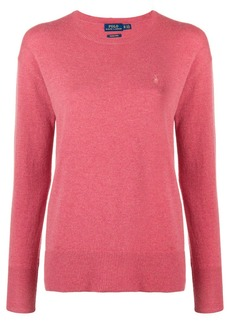 Ralph Lauren: Polo classic logo fitted sweater