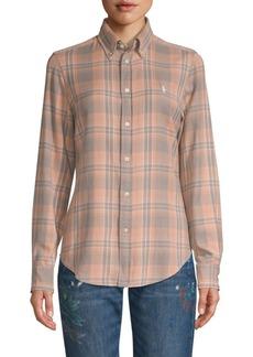 Ralph Lauren: Polo Classic Plaid Button-Down Shirt
