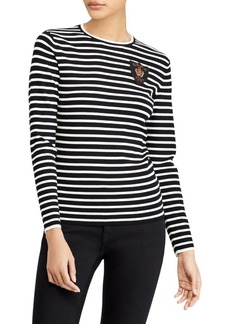 Ralph Lauren: Polo Classic Striped Pullover