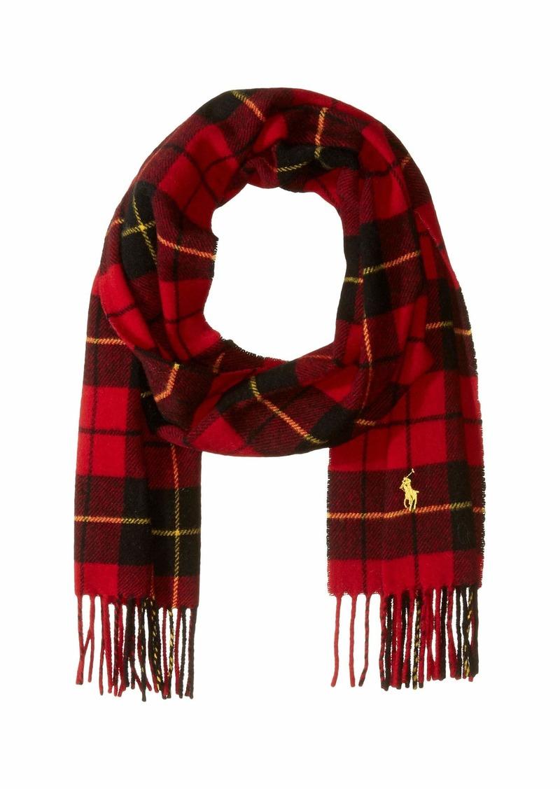 Ralph Lauren Polo Classic Wool Tartan Scarf