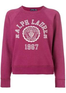 Ralph Lauren: Polo collegiate fleece jumper