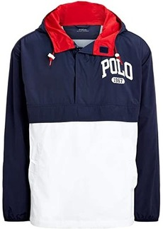 Ralph Lauren Polo Color-Blocked Graphic Pullover