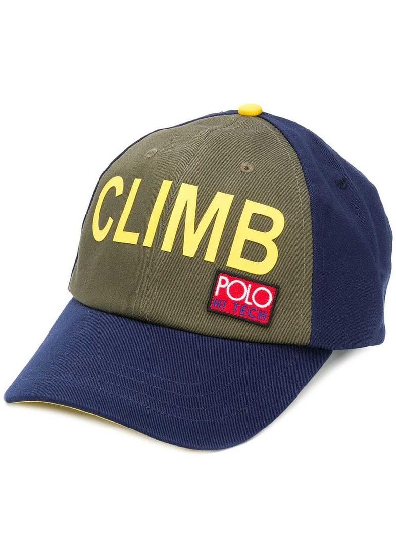 Ralph Lauren Polo colour-block cap