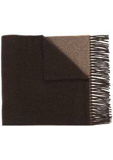 Ralph Lauren: Polo colour-block fringed scarf