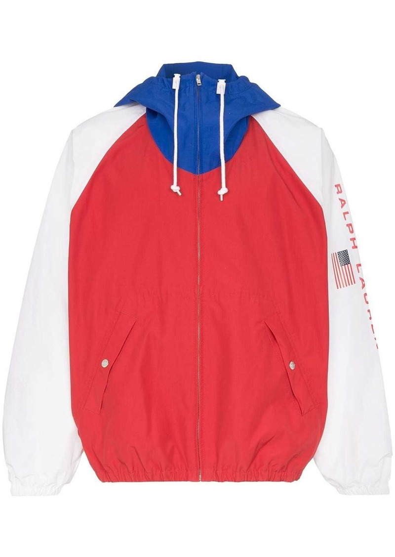 Ralph Lauren Polo colour-block lightweight jacket
