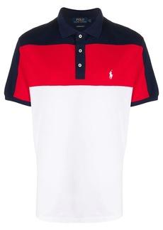 Ralph Lauren Polo colour-block polo shirt