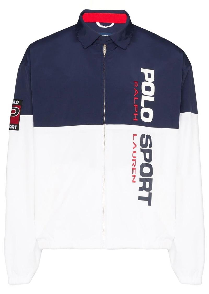 Ralph Lauren Polo colour-block zipped jacket