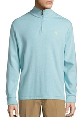 Ralph Lauren Polo Cotton-Blend Half-Zip Pullover