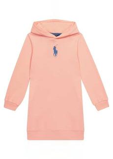 Ralph Lauren: Polo Cotton-blend hoodie dress