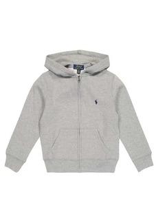 Ralph Lauren: Polo Cotton-blend jersey hoodie