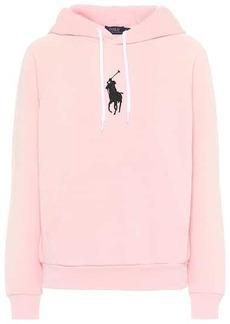 Ralph Lauren: Polo Cotton-blend jersey hoodie