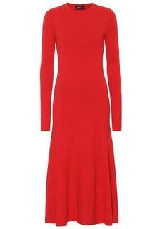 Ralph Lauren: Polo Cotton-blend knit dress