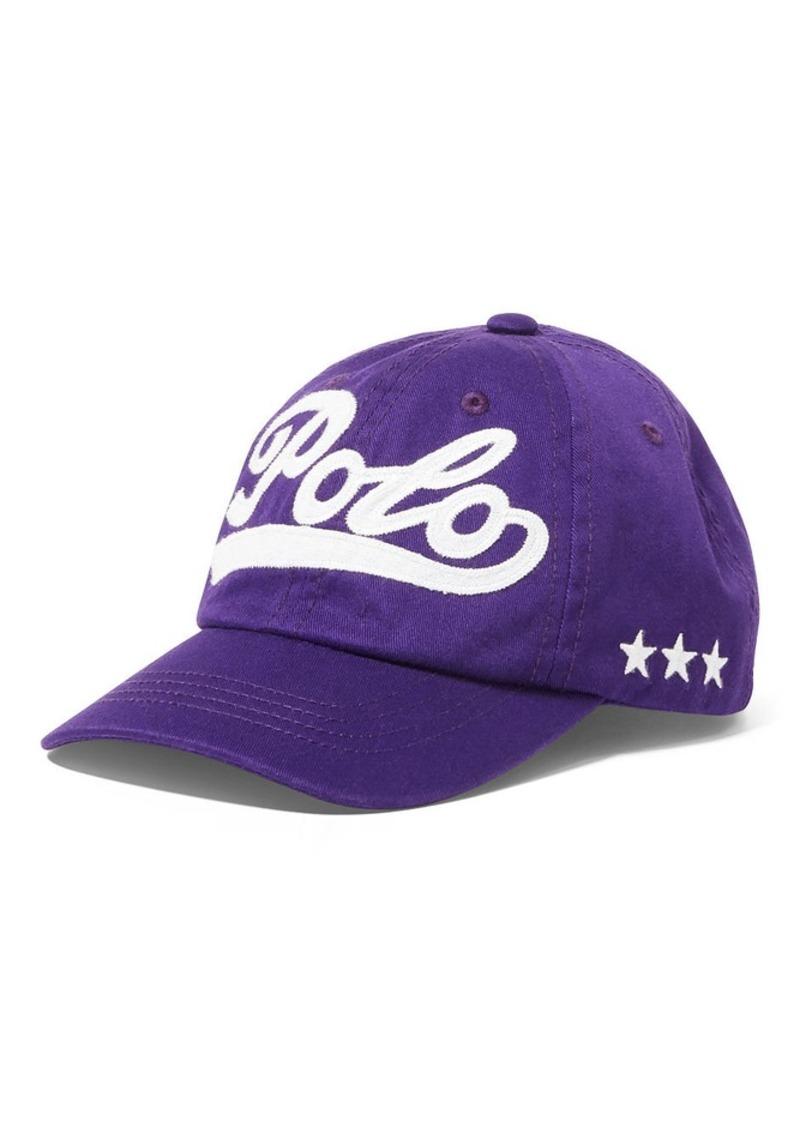 Ralph Lauren Polo Cotton Chino Baseball Cap