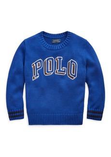 Ralph Lauren Polo Cotton Crewneck Sweater