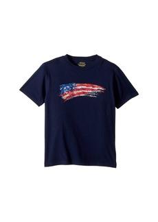 Ralph Lauren: Polo Cotton Jersey Graphic T-Shirt (Big Kids)