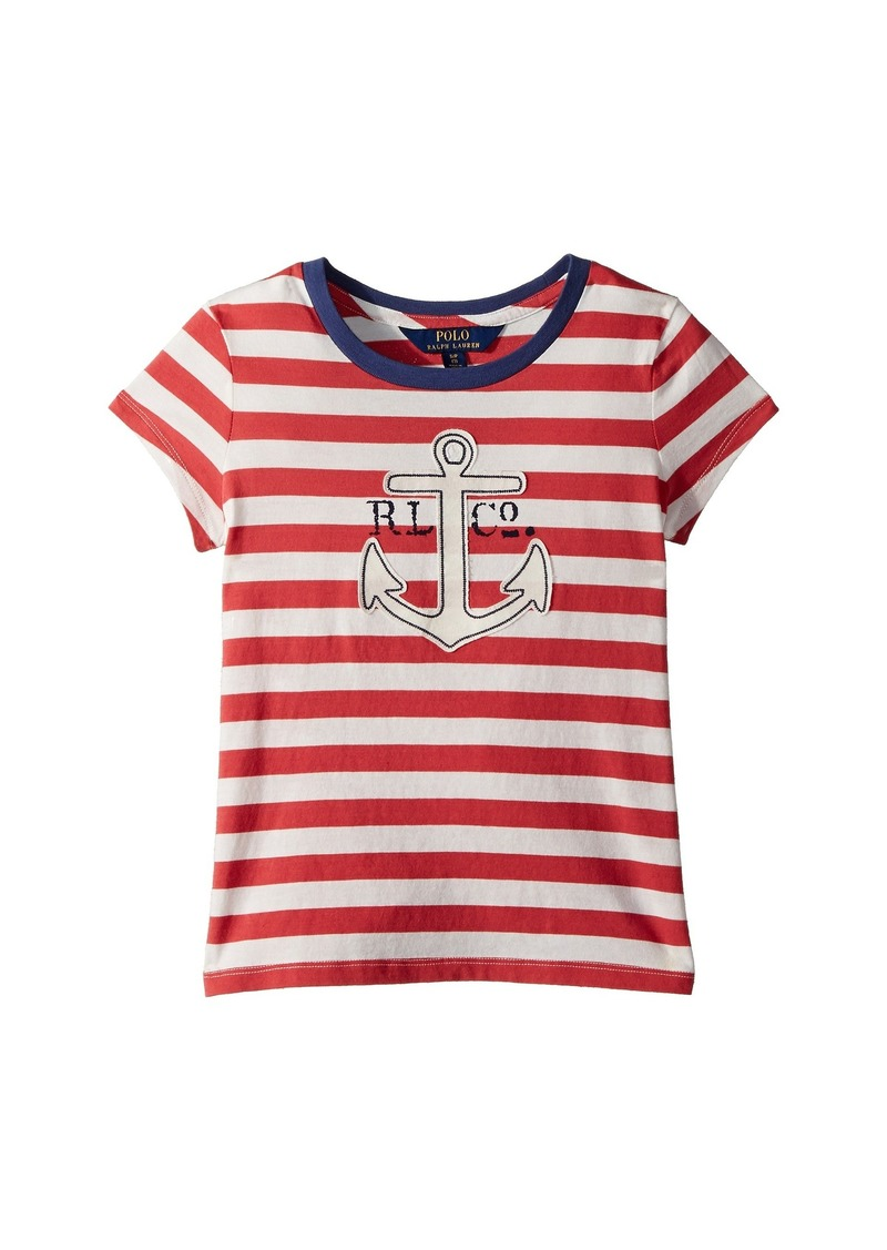 Cotton Jersey Graphic T-Shirt (Little Kids Big Kids). Ralph Lauren  Polo 15ce2466e