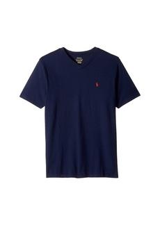 Ralph Lauren: Polo Cotton Jersey V-Neck T-Shirt (Big Kids)