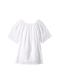 Ralph Lauren: Polo Cotton Lace Hem Dress (Toddler)