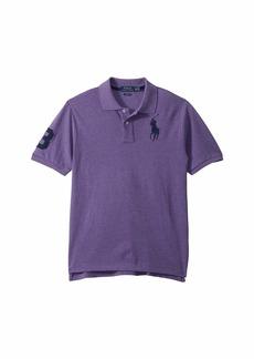 Ralph Lauren: Polo Cotton Mesh Polo Shirt (Big Kids)