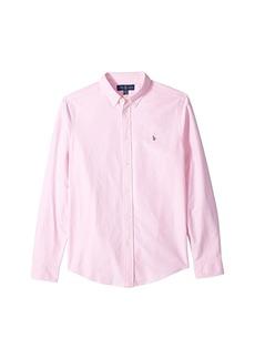 Ralph Lauren: Polo Cotton Oxford Sport Shirt (Big Kids)
