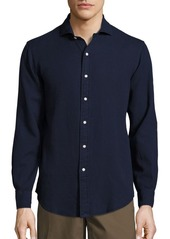 Ralph Lauren Polo Cotton Piqué Button-Down Shirt