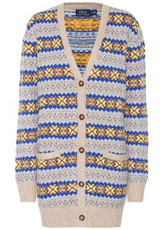 Ralph Lauren: Polo Cotton, silk and wool cardigan