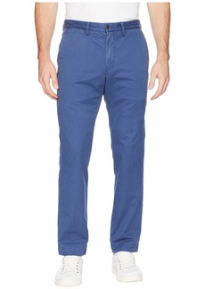 Ralph Lauren Polo Cotton Stretch Twill Bedford Flat Pants