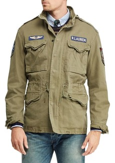 Ralph Lauren Polo Cotton Twill Field Jacket
