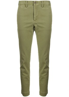 Ralph Lauren: Polo cropped mid-rise trousers