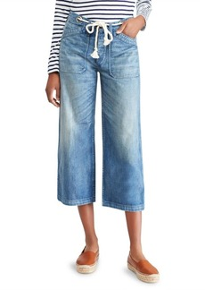Ralph Lauren: Polo Cropped Wide Leg Jeans