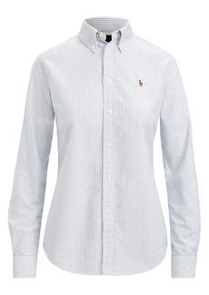 Ralph Lauren: Polo Custom Fit Striped Shirt