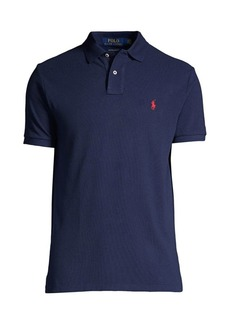 Ralph Lauren Polo Custom Slim-Fit Mesh Polo