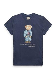 Ralph Lauren: Polo Denim Polo Bear Graphic T-Shirt