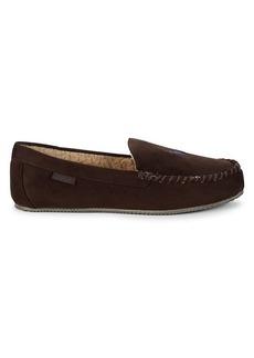 Ralph Lauren Polo Dezi Faux Fur Moccasin Slippers