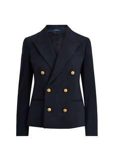 Ralph Lauren: Polo Double-Breasted Wool-Blend Blazer