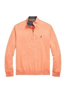 Ralph Lauren Polo Double-Knit Quarter-Zip Pullover