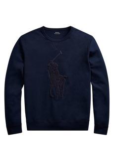 Ralph Lauren Polo Double Knit Tech Sweatshirt