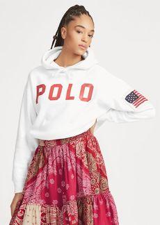 Ralph Lauren Polo Drawcord Fleece Hoodie