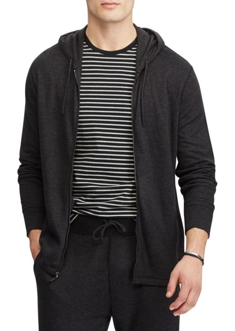 e532e063bc Duofold Jacquard Knit Front Zip Hoodie