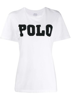 Ralph Lauren: Polo embellished logo T-shirt