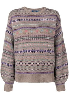 Ralph Lauren: Polo embroidered christmas sweater