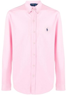 Ralph Lauren embroidered logo button-down shirt