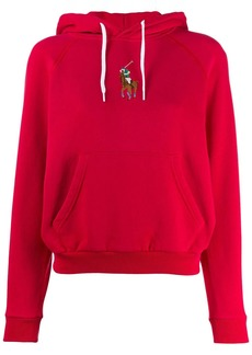Ralph Lauren: Polo embroidered logo hoodie