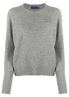 Ralph Lauren: Polo embroidered logo jumper