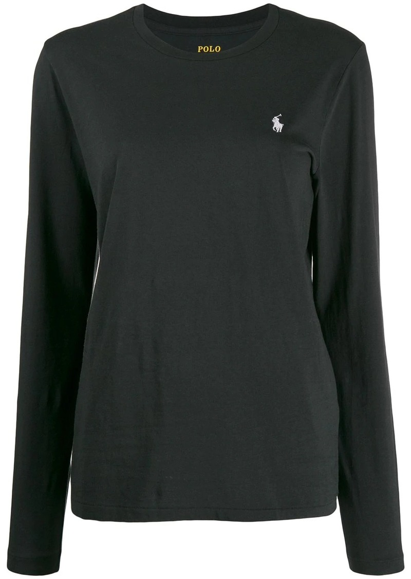 Ralph Lauren: Polo embroidered logo longsleeved T-shirt