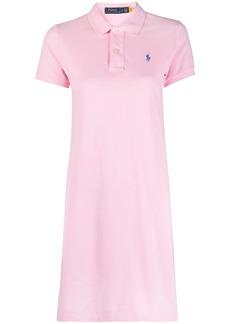 Ralph Lauren: Polo embroidered logo minidress