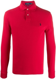 Ralph Lauren Polo embroidered logo polo jumper