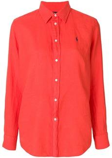 Ralph Lauren: Polo embroidered logo shirt