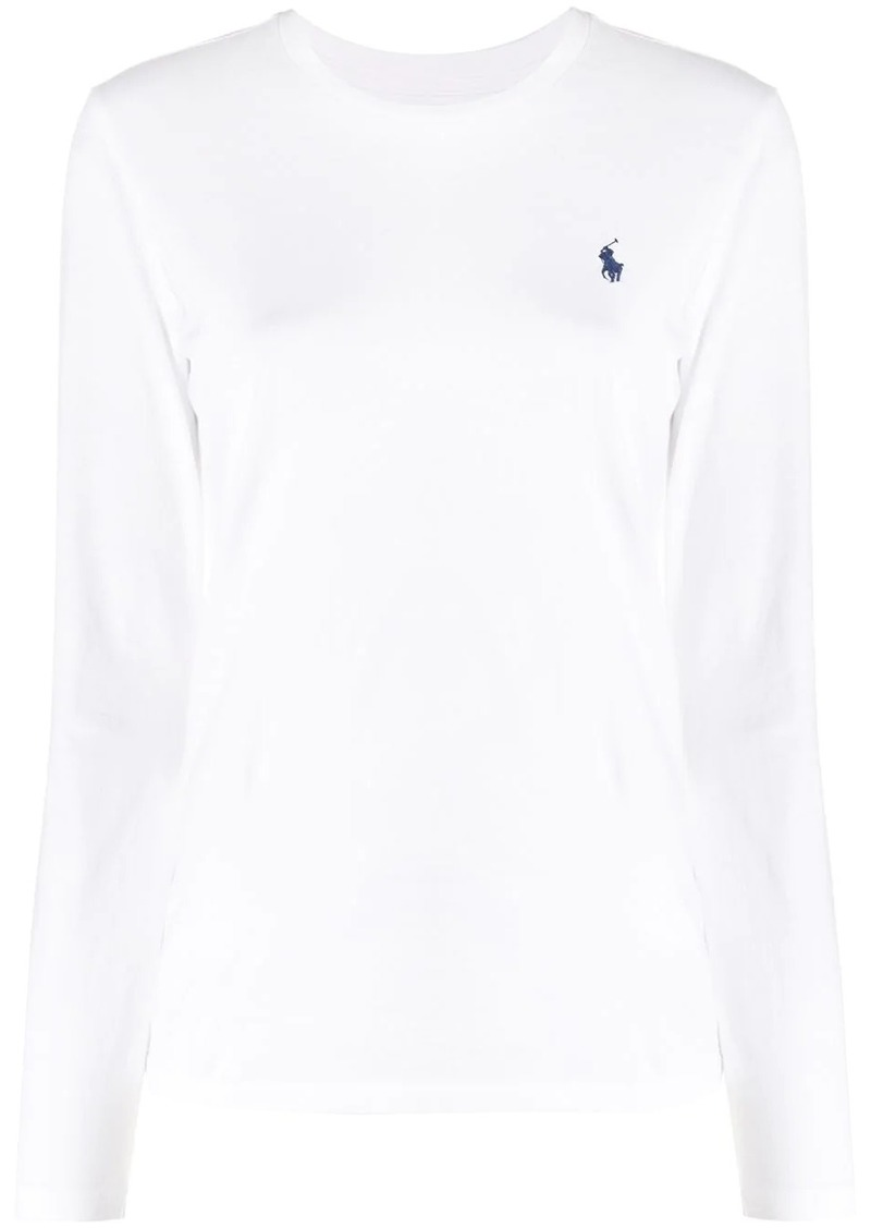 Ralph Lauren: Polo embroidered logo T-shirt
