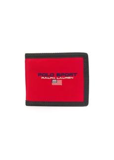 Ralph Lauren Polo embroidered logo wallet